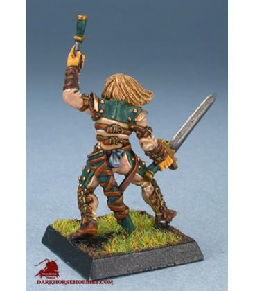 Warlord: Mercenaries - Shadow Mercenary, Rogue (painted by Alex Glocka)