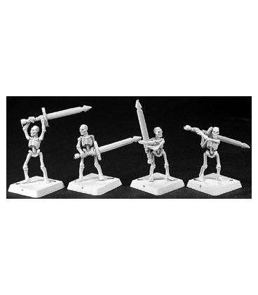 Warlord: Necropolis - Skeletal Swordsmen Grunt Box Set