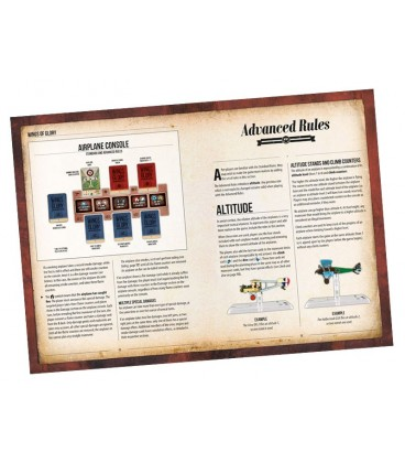 Wings of Glory: WW1 Rules and Accessories Pack