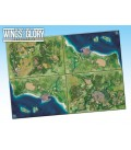 Wings of Glory: Game Mat - Coast (four maps together)