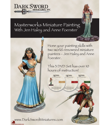 Masterworks Miniature Painting With Jen Haley and Anne Foerster