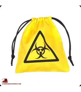 Biohazard Dice Bag Yellow