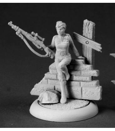 Chronoscope: Ivanetta Kozlov, Russian Sniper