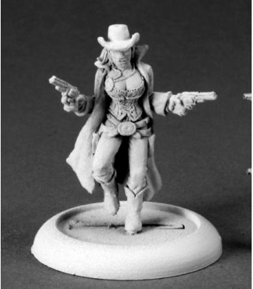 Chronoscope (Wild West): Victoria Jacobs, Cowgirl