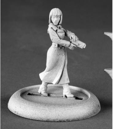 Chronoscope (Noir): Astrid Berger, Female Spy