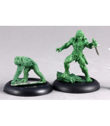 Chronoscope: Lord of the Jungle and Familiar (master sculpt)