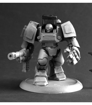 Chronoscope (NOVA Corp): Jake Master, IMEF Bulldog Armor