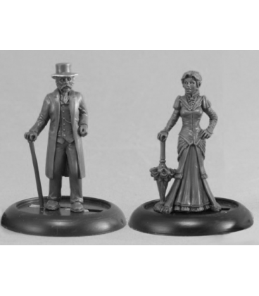 Chronoscope: Victorian Lord and Dame (master sculpt)