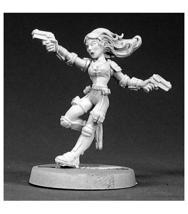 Chronoscope: Veronica Blaze, Agent of G.U.A.R.D. (unpainted)