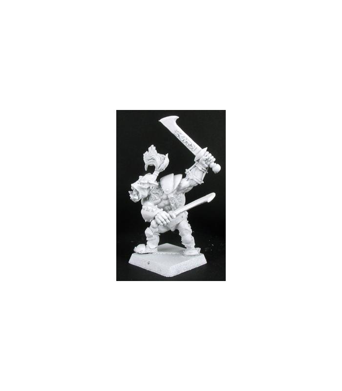 Gaaguk Bull Orc Reven Hero Miniature 25mm Heroic Scale Warlord Reaper Miniatures