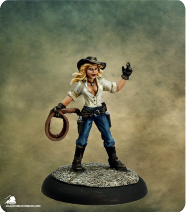 Savage Worlds: Deadlands - Wichita Witch (painted by Martin Jones)