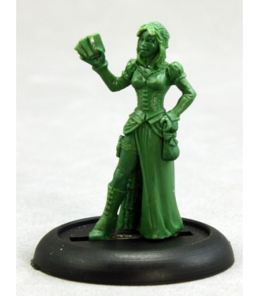 Savage Worlds: Deadlands - Female Huckster (sculpt by Bob Ridolfi)