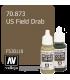 Vallejo Model Color: US Field Drab (17ml)