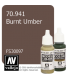 Vallejo Model Color: Burnt Umber (17ml)