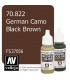 Vallejo Model Color: German Camo Black Brown (17ml)
