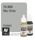 Vallejo Model Color: Sky Grey (17ml)