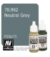 Vallejo Model Color: Neutral Grey (17ml)