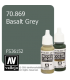 Vallejo Model Color: Basalt Grey (17ml)