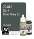 Vallejo Model Color: Dark Blue Grey II (17ml)