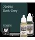 Vallejo Model Color: Dark Grey (17ml)