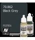 Vallejo Model Color: Black Grey (17ml)
