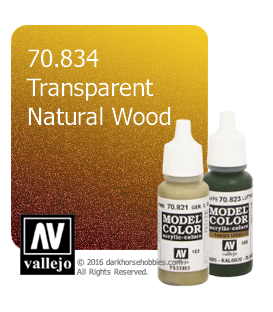 Vallejo Model Color: Transparent Natural Wood (17ml)