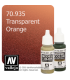 Vallejo Model Color: Transparent Orange (17ml)