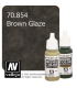 Vallejo Model Color: Brown Glaze (17ml)