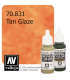Vallejo Model Color: Tan Glaze (17ml)