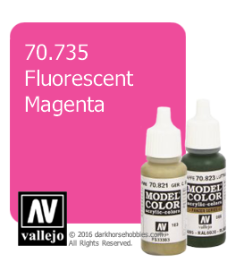 Vallejo Model Color: Fluorescent Magenta (17ml)