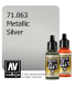 Vallejo Model Air: Silver RLM01 (Metallic) (17ml)