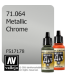 Vallejo Model Air: Chrome (Metallic) (17ml)