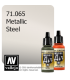 Vallejo Model Air: Steel (Metallic) (17ml)