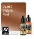 Vallejo Model Air: Rust (Metallic) (17ml)