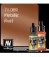Vallejo Model Air: Rust (Metallic) (17ml)
