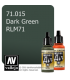 Vallejo Model Air: Dark Green RLM71 (17ml)