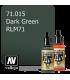 Vallejo Model Air: Dark Green RLM71 (17ml)