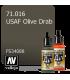 Vallejo Model Air: USAF Olive Drab (17ml)