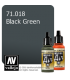 Vallejo Model Air: Black Green (17ml)
