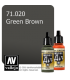 Vallejo Model Air: Green Brown (17ml)