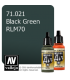 Vallejo Model Air: Black Green RLM70 (17ml)