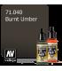 Vallejo Model Air: Burnt Umber (17ml)