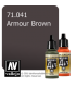 Vallejo Model Air: Armour Brown (17ml)