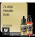 Vallejo Model Air: Gold (Metallic) (17ml)