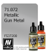 Vallejo Model Air: Gun Metal (Metallic) (17ml)