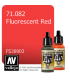 Vallejo Model Air: Fluorescent Red (17ml)