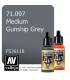 Vallejo Model Air: Medium Gunship Grey (17ml)