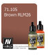 Vallejo Model Air: Brown (17ml)
