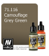 Vallejo Model Air: Camouflage Grey Green (17ml)