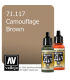 Vallejo Model Air: Camouflage Brown (17ml)